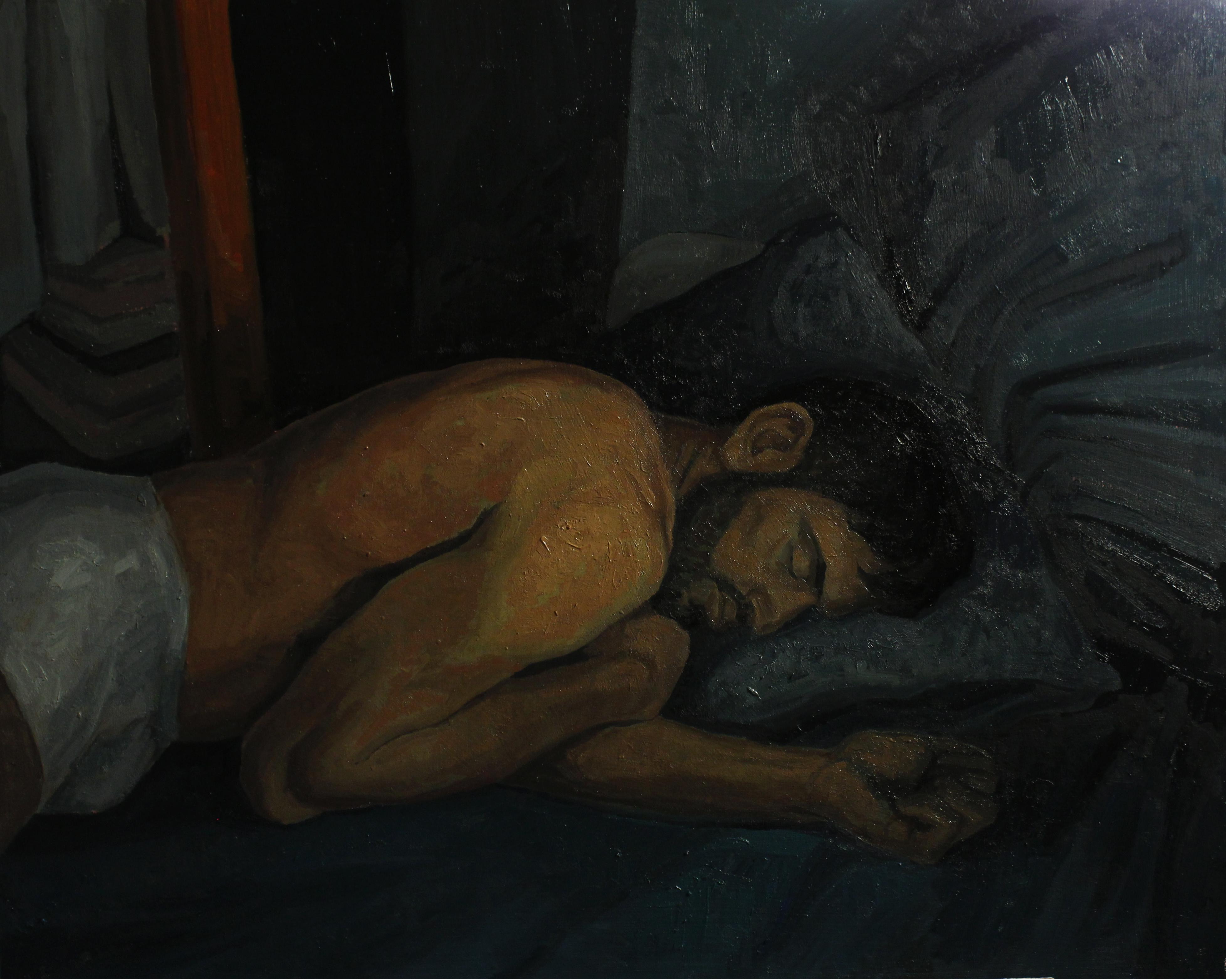 Adrián durmiendo