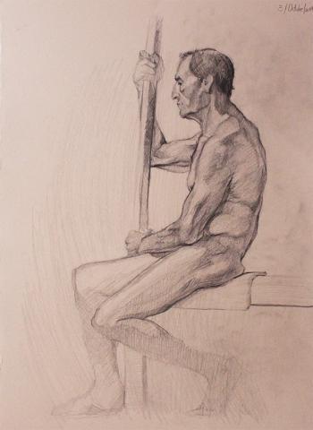 Un modelo de Antonio López